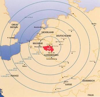 Situation stratégique de Liège