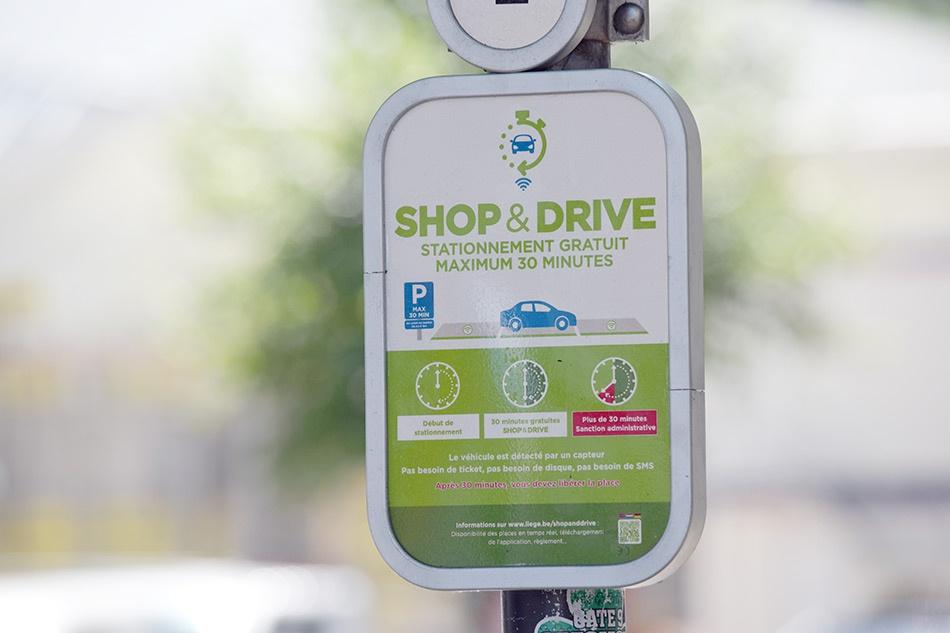 Shop&Drive © Ville de Liège - E. Denis